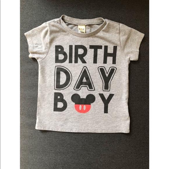 Mickey Mouse Birthday Shirt M 5bb658019539f739571903f8